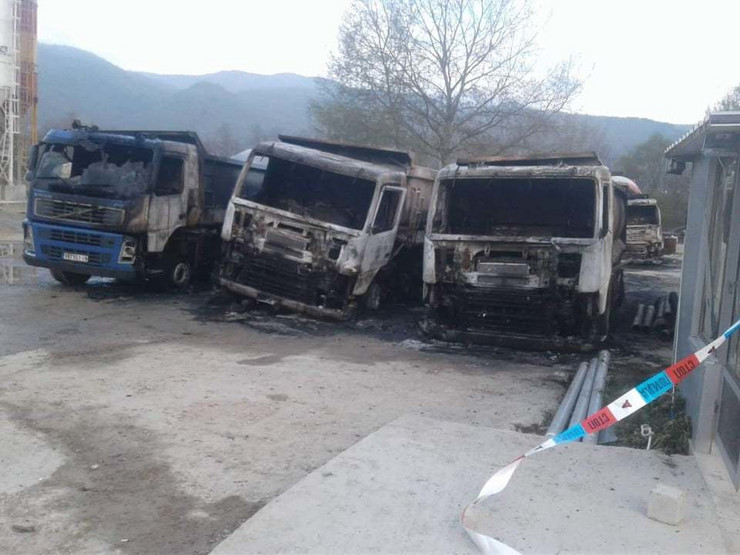 Vranje, požar podmetnut u firmi