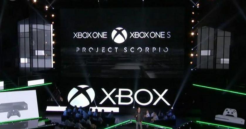 Prezentacja projektu Scorpio na targach E3 w  Los Angeles