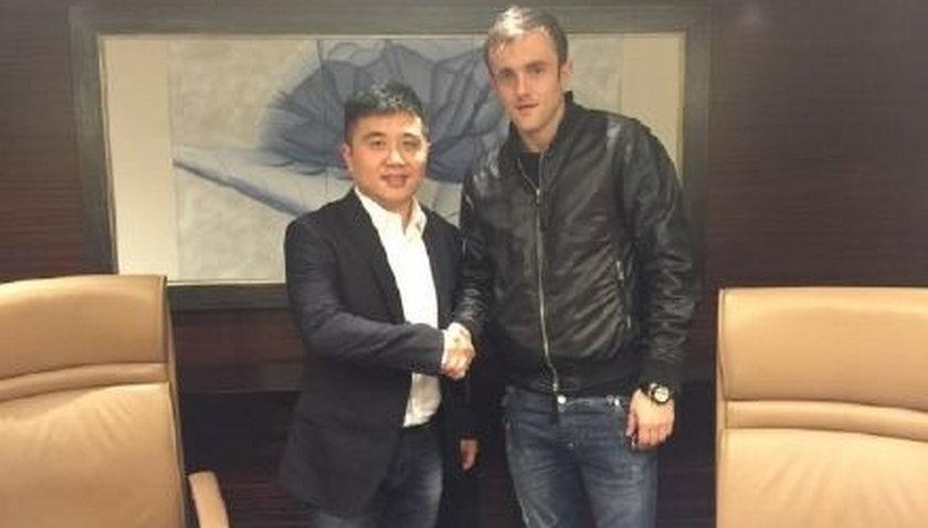 Poważna kontuzja Miroslava Radovicia w Chinach.