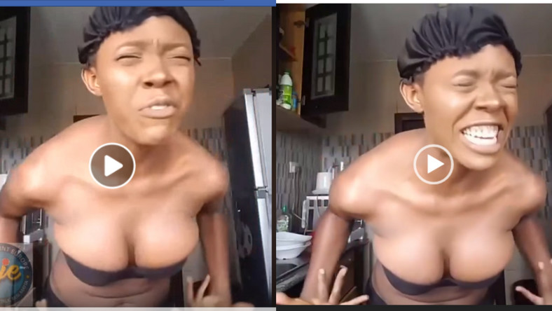Medical doctor strips 'naked' to pray for more followers on social media (video)