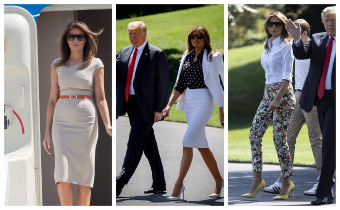 Melanija Tramp zna šta je dobar stil