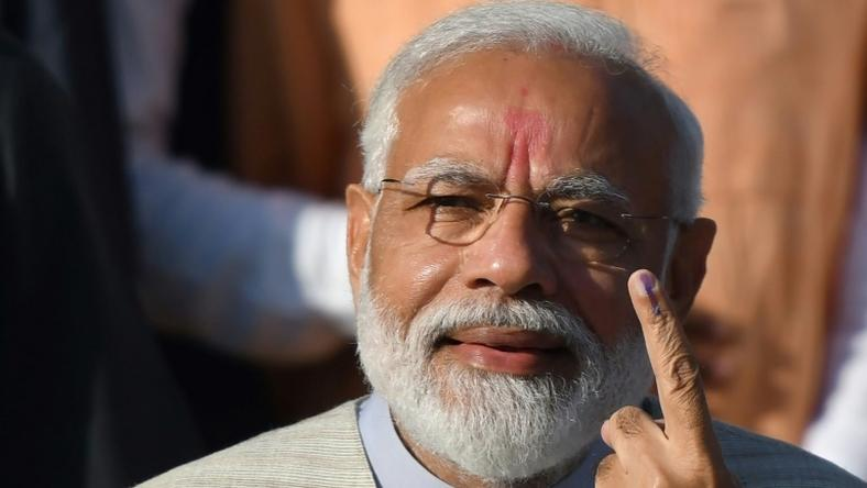 Indian Prime Minister Narendra Modi is looking to boost his chances of a second term as the national election heads into its final round