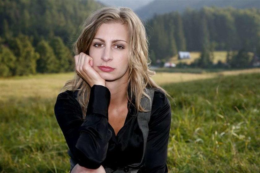 Magda Schejbal nie nosi szpilek