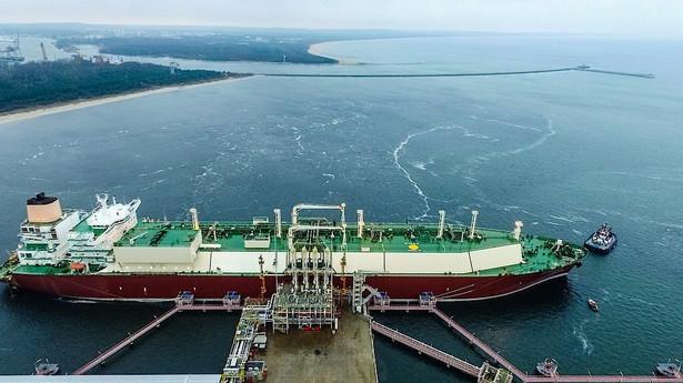 Terminal LNG w Świnoujściu. Źródło: Materiały prasowe spółki Polskie LNG S.A.