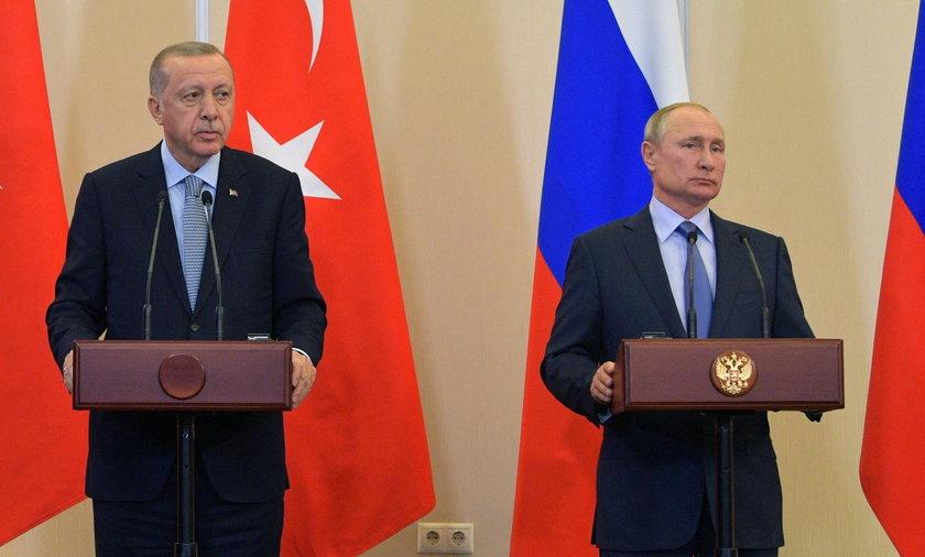 Prezydent Turcji porozumiał się z Rosją ws. Syrii