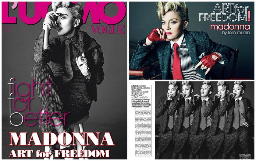 """Madonna w """"Vogue'u"""""""