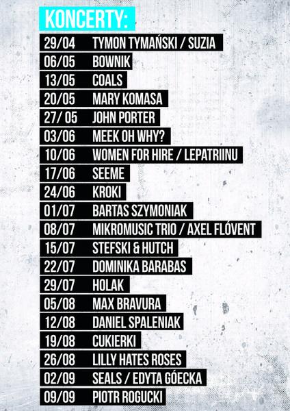 SongwriterŁódź Festival - plakat