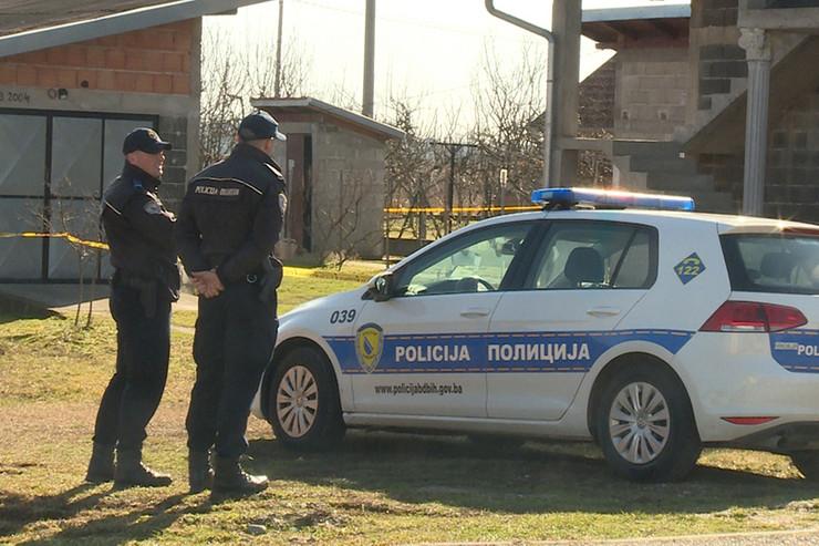 Policija Brčko Kuća-ubijenog-Slaviše-Jovičevića-foto-Cvijeta-Kovačević