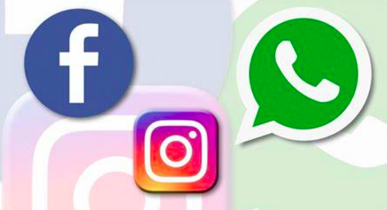 Facebook, Instagram and WhatsApp all go down
