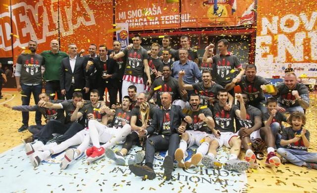 Šampioni ABA lige: Košarkaši Zvezde odbranili su tron