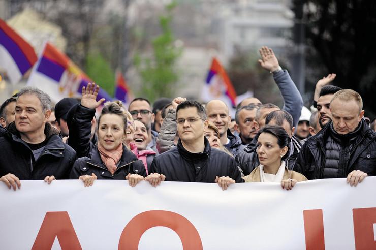 opozicija  protest 130 opt