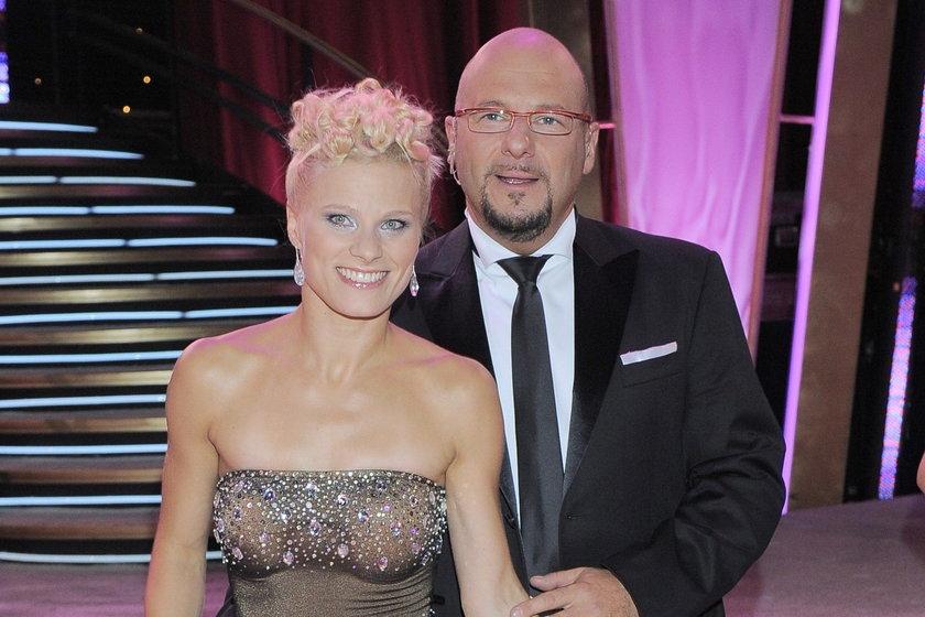 Piotr Gąsowski i Anna Głogowska