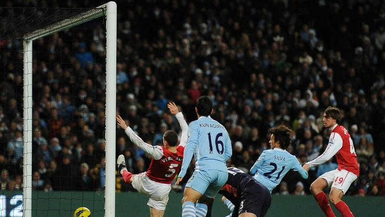 Tak padł zwycięski gol dla Man City w meczu z Arsenalem