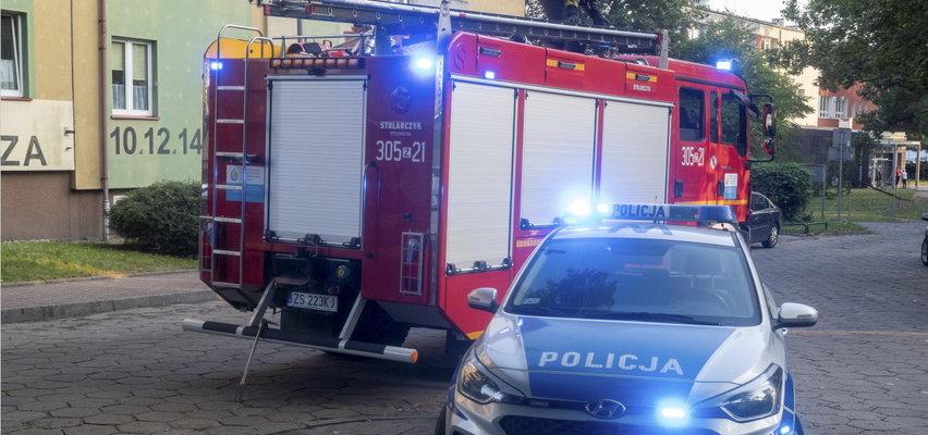 Tragiczny pożar w okolicach Wrocławia. Nie żyje trzech mężczyzn