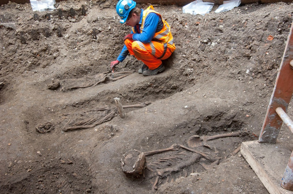 Iskopavanja u ulici Liverpul u Londonu