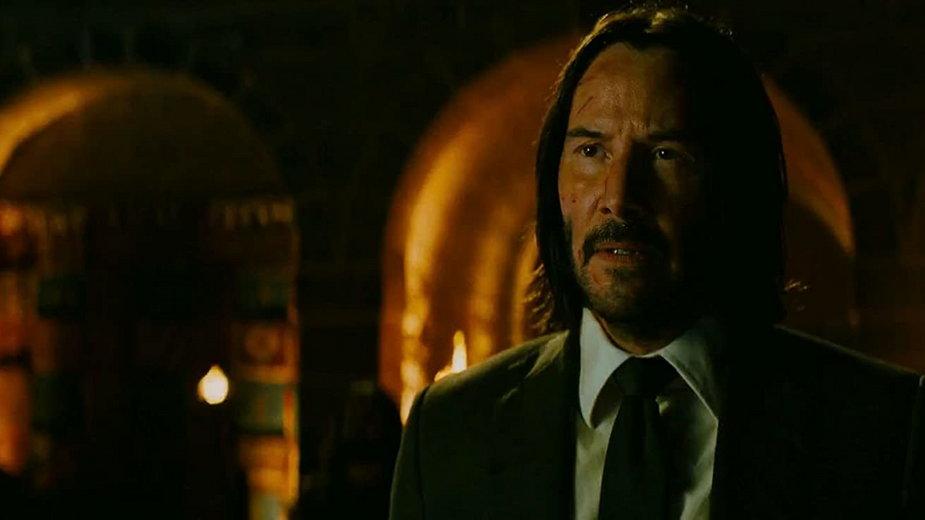 "Keanu Reeves w filmie ""John Wick: Chapter 3 - Parabellum"" (2019)"