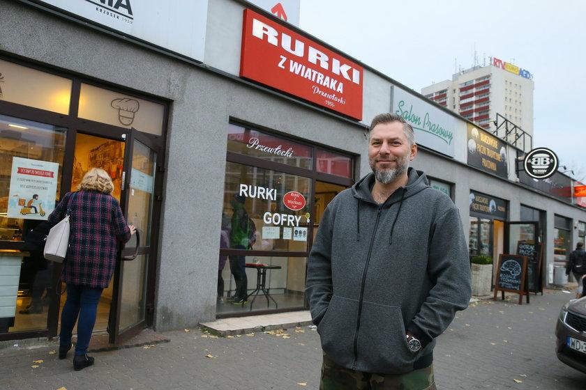 Piotr Przewłocki (44 l) przed rodzinną firmą