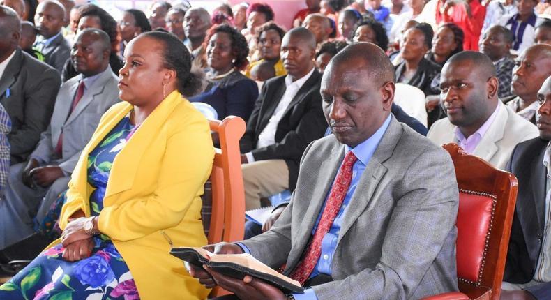 DP William Ruto at a past event in Kirinyaga