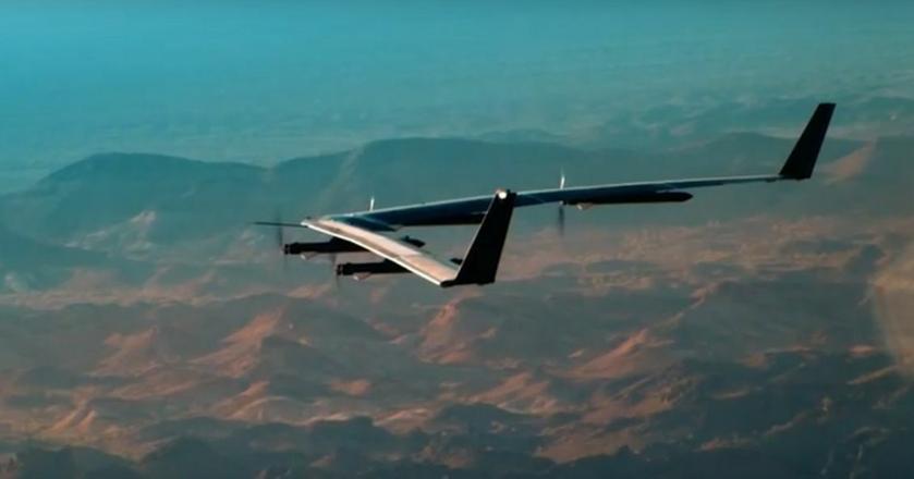 Dron Aquila pierwszy testowy lot odbył 28 czerwca br. Nie zakończył się on sukcesem