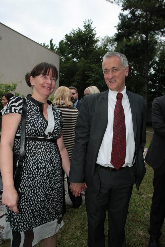 Mladenci: Gordana i Miloš