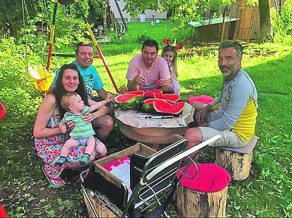 Francuza i Meksikanku ugostili Predrag Ranković i njegova porodica