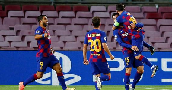 Liga Mistrzów. FC Barcelona – SSC Napoli. Skrót meczu