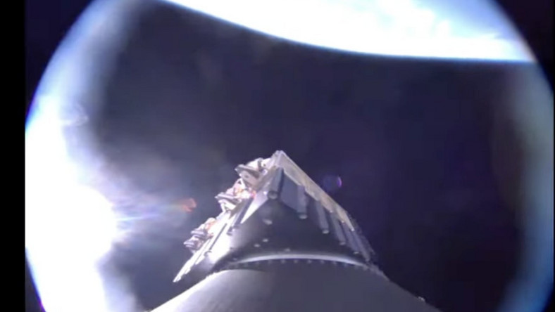 Satelita STARK na orbicie