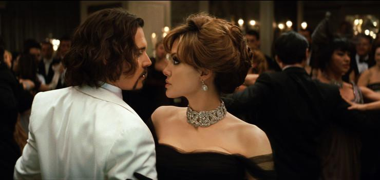 "Angelina Jolie i Johnny Depp, ""Turysta"""