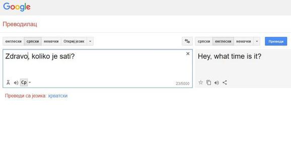 Realnost Iz Terminatora Guglov Prevodilac Postao Je