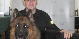 Owczarek rozpoczął służbę w policji