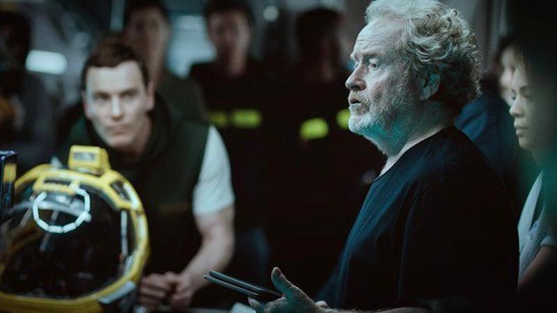 """Alien: Covenant' - zdjęcie z planu"