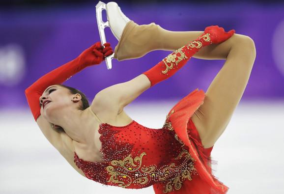 Alina Zagitova donela prvo zlato Rusiji