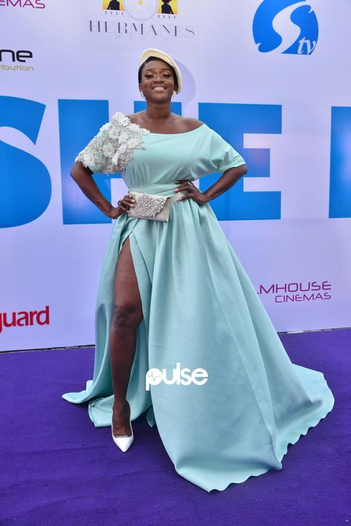 Waje at 'She Is' movie premiere [PULSE]