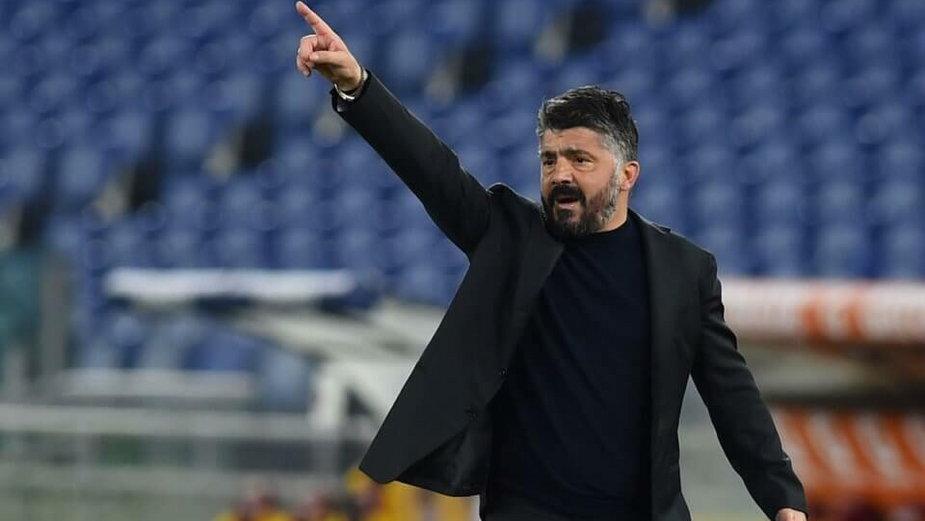 Gennaro Gattuso po sezonie odejdzie z Napoli