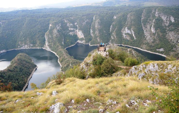uvac2 Bajro otvorio kapije domacinstva da bi turisti uzivali foto Beba Bojovic