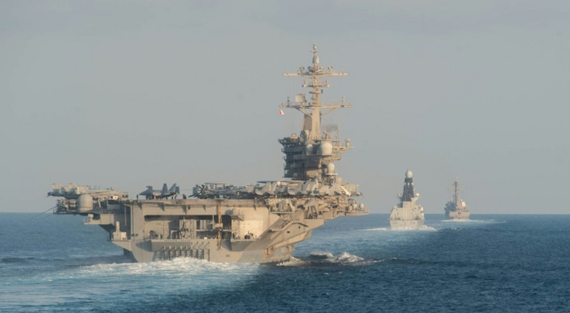 US flexes muscles in Gulf to reassure allies
