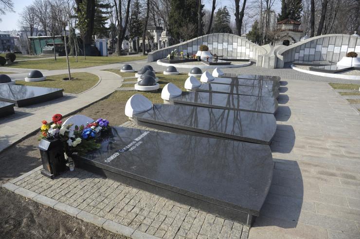 Oliver Ivanović, Grob, Aleja zaslužnih građana, Mesec dana od ubistva