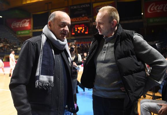 Duško Vujošević i Dragan Đilas pružili su podršku