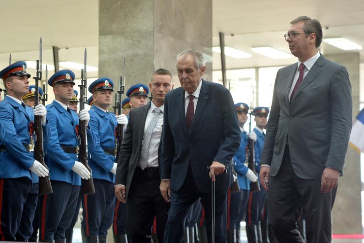 Palata Srbija Aleksandar Vučić Miloš Zeman Tanjug Predsedništvo Srbije