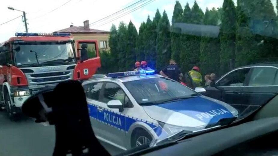 Samochód potrącił 7-latka. Pierwsze ustalenia policji