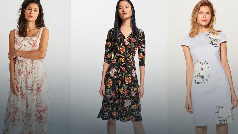 b766716f98 Sukienki w kwiaty idealne na powitanie wiosny - Moda