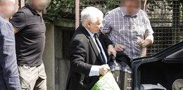 Jarosław Kaczyński spakował walizki i opuścił Warszawę. Zobacz ZDJĘCIA!