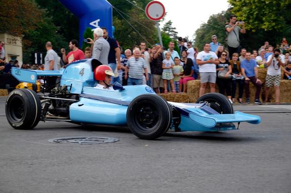 Revija bolida Formule na Kalemegdanu 2016.