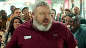 """Kristian Nairn, znany jako Hodor z """"Gry o tron"""", w reklamie KFC"""