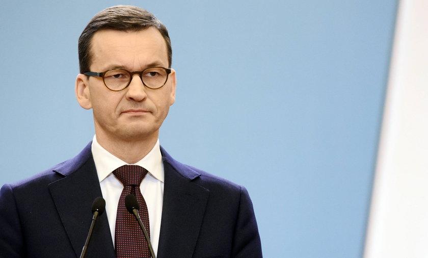 Premier Mateusz Morawiecki miał pracowity rok