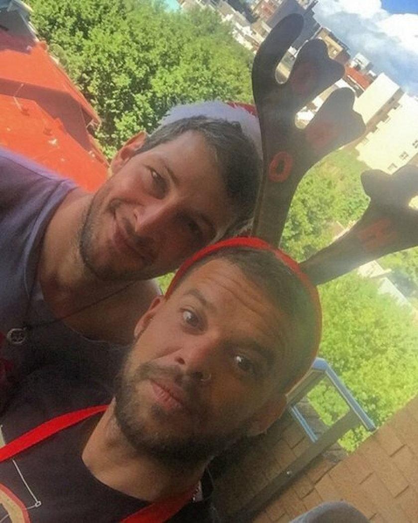 Michał Piróg i Leszek Stanek na Święta w Australii
