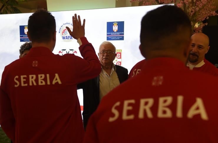 Umetnička fudbalska reprezentacija Srbije