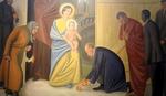 PUTIN I OBAMA ISPRED ISUSA Na prvi pogled to je najobičnija freska, ali kad malo bolje pogledate primtićete i neke ULJEZE