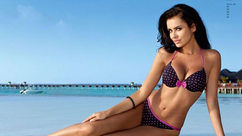 W roli modelki Miss Euro 2012 Natalia Siwiec