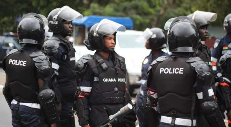 6 Ghanaian police officers test positive for COVID-19